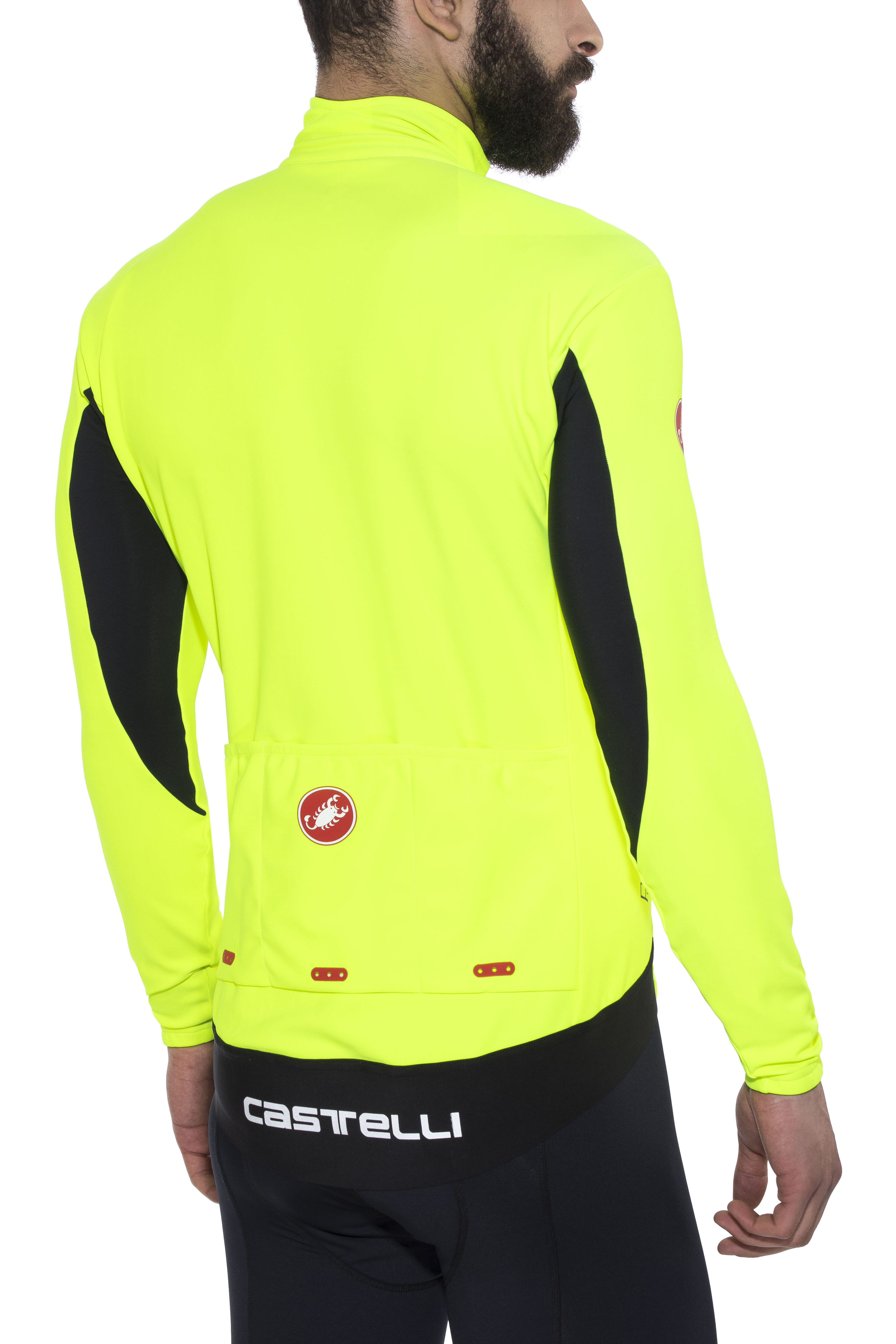 Castelli Perfetto Bike Jersey Longsleeve Men yellow at Bikester.co.uk 505d22e12